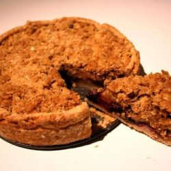 Bizooey's Apple Crumble Pie - With Crust Recipe! recipe