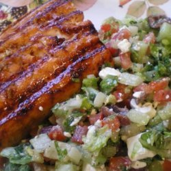 Hoisin Glazed Salmon or Sea Bass recipe