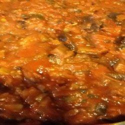Caponata - Canned recipe