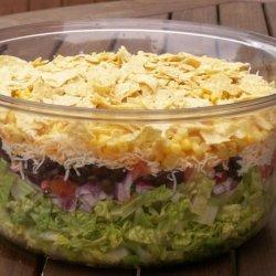 Southwest Salad With Fresh Lime Cilantro Dressing recipe
