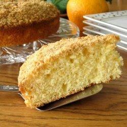 Orange Streusel Coffee Cake recipe