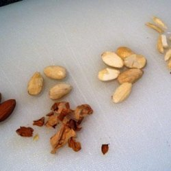 How to Blanch, Split, & Sliver Almonds recipe