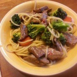 Beef Noodle Bowl recipe