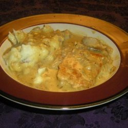 Creamy Dijon Pork Chops With Apples and Onions recipe