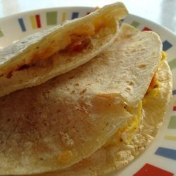 Bacon, Egg and Cheese Quesadillas recipe