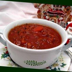 Beefy Lentil Soup recipe