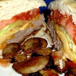 Pittsburgh Steelers Roethlis-Burger recipe