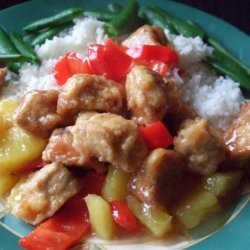 River Road Cookbook Sweet and Sour Pork recipe