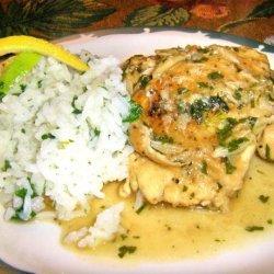 Spanish Garlic Chicken recipe
