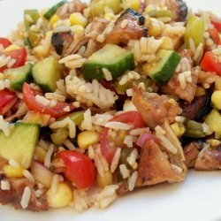 Oriental Chicken Summer Salad recipe