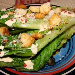 Grilled Caesar Salad / Grilled Romaine recipe