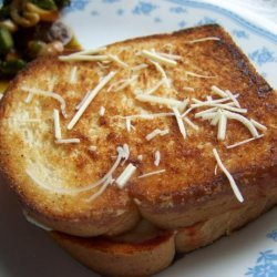 Grilled Cheese Pizza Sandwich recipe
