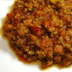 Bolognese Meat Sauce recipe
