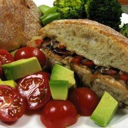 Turkey Philly Sandwiches recipe