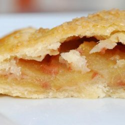Toffee Apple Turnover Pie recipe