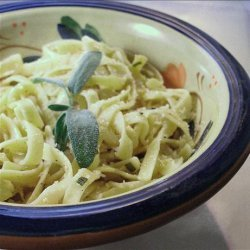 Buttered Noodles With Fresh Sage recipe
