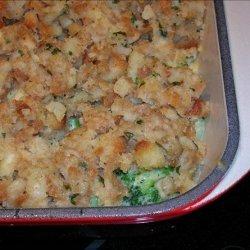 Cheesy Broccoli & Stuffing Casserole recipe