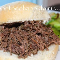 Italian Roast Beef Sandwiches recipe