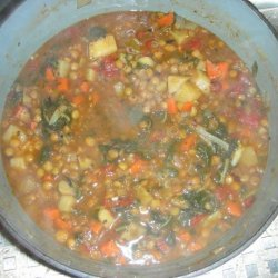 Lentil Soup With Swiss Chard recipe