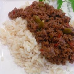 Cuban Style Picadillo recipe