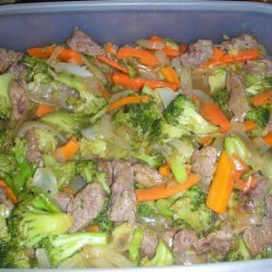 Low Carb Beef and Broccoli Stir Fry recipe
