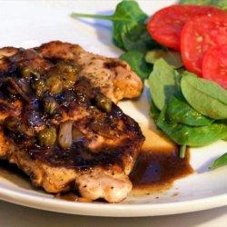 Pork Chops With Maple Mustard Sauce recipe