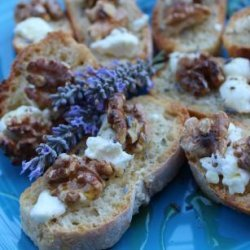 Goat Cheese and Walnut Nibblers recipe