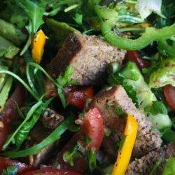 Middle Eastern Lebanese Fattoush Bread Salad recipe
