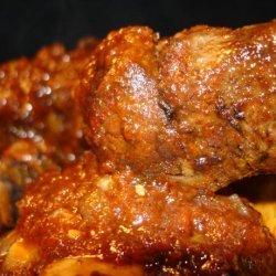 Roasted Prime Rib Bones or Beef Short Ribs recipe