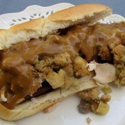 Thanksgiving Leftover Extraordinaire! recipe