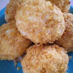 Crunchy Potato Cheese Balls recipe