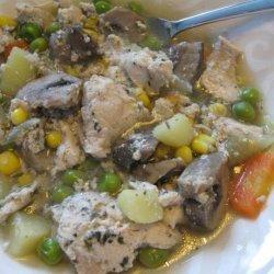 Slow Cooker Rustic Chicken Stew recipe