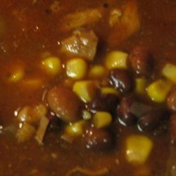 Southwestern Chicken and Bean Soup (Crock Pot) recipe