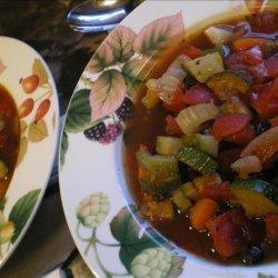 Vegetarian Minestrone Soup recipe