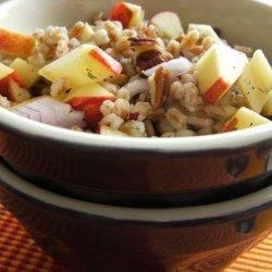 Farro, Apple and Pecan Salad recipe