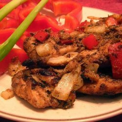 Grilled Jamaican  Jerk  Chicken recipe