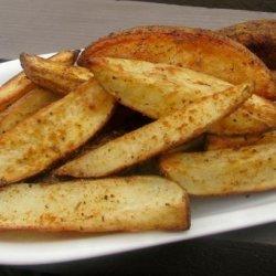 Baked Creole Potato Wedges recipe