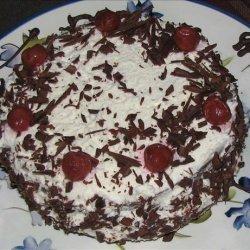 Black Forest Cherry Cake recipe