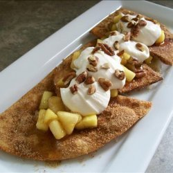 Apple Pie Nachos recipe