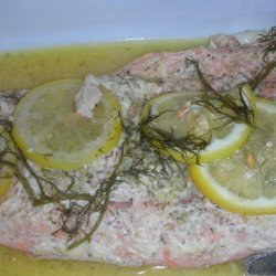 Scottish Salmon With Herb Butter recipe