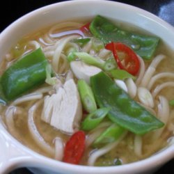 Chicken and Noodle Miso Soup recipe