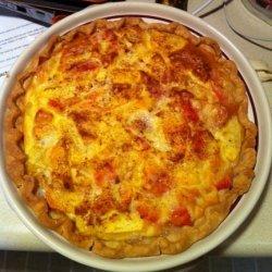 Peach Custard Pie recipe
