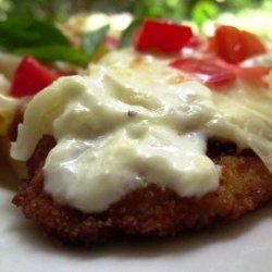 Chicken Parmesan Alfredo recipe