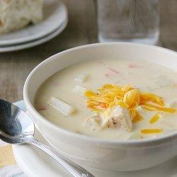 Cheesy Chicken Chowder recipe