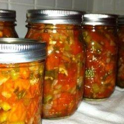 Tomato Salsa - Uncle Bill's Version recipe