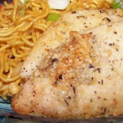 Quick & Easy Garlic Chicken With Parmesan recipe