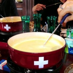 Authentic Original Traditional Swiss Fondue (Old World Recipe) recipe