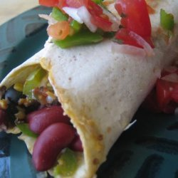 Vegetable Burritos recipe