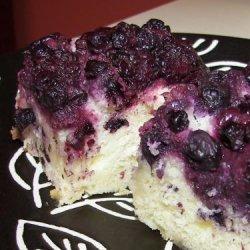 Lemon Blueberry Upside Down Cake recipe