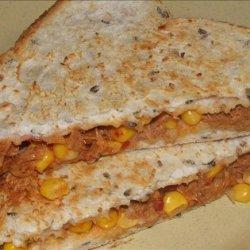 Tuna and Corn Jaffles recipe